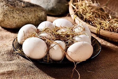 农家散养鸡蛋土鸡蛋图片