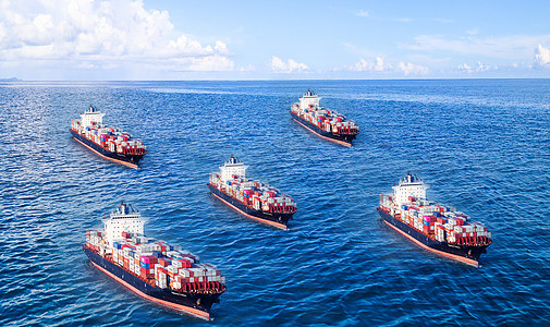 海上货运贸易图片
