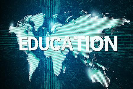 在线教育创意图片