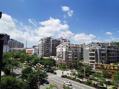 阳光明媚的东园路图片