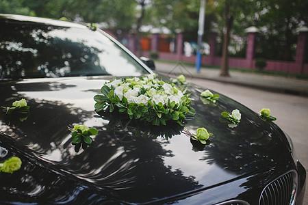 婚礼头车图片