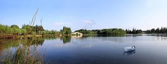 尚湖美景图片