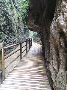 张家界峡谷山水风光岩石图片