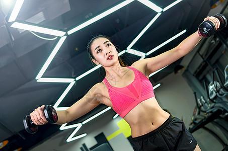 健身女教练图片
