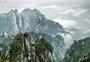 旅游远眺黄山风光风景图片