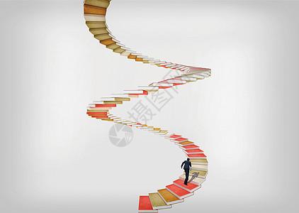 旋转书梯图片