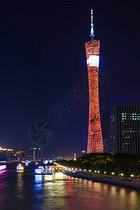 夜景广州塔图片