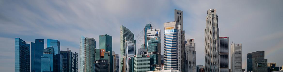 新加坡摩天楼群图片