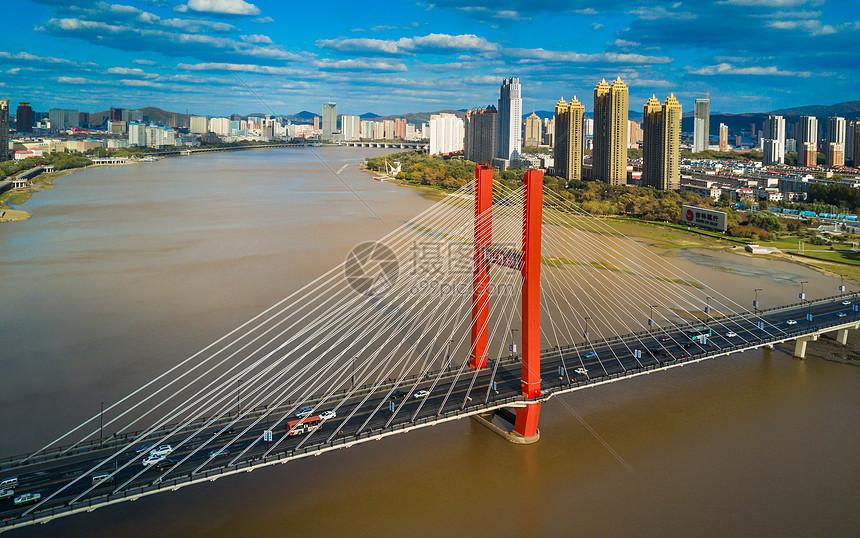 吉林跨江大桥图片