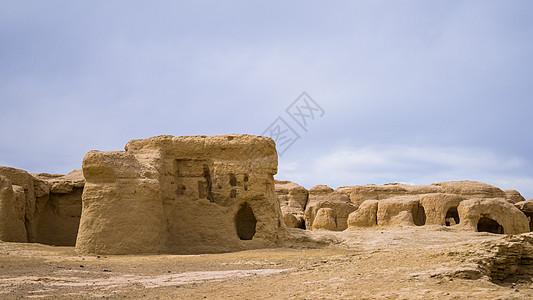 新疆吐鲁番交河故城图片