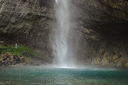 温州乐清雁荡山瀑布图片