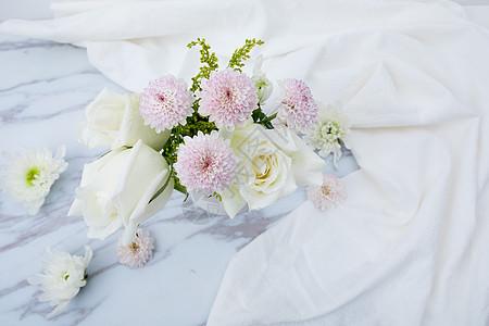 插花艺术鲜花配图图片