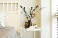 北欧风卧室室内装修局部特写图片