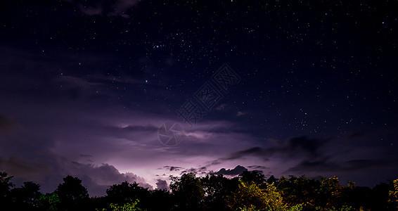 南部海滨昼夜星空图片