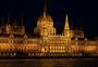 布达佩斯景点匈牙利国会大厦夜景图片