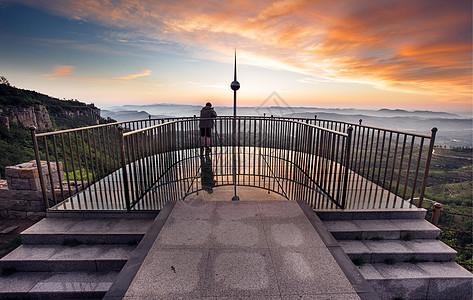 山顶观景平台高清图片图片