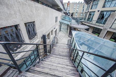 城市建筑内外部构造图片