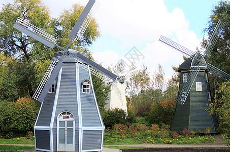 黑龙江植物园风车图片