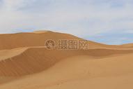 沙漠沙丘景色图片