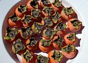 成熟的柿子图片