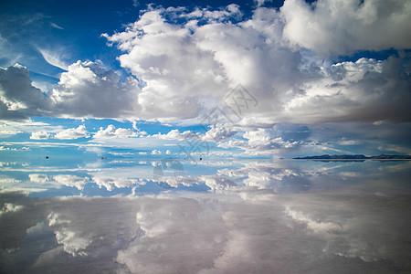 天空之镜图片