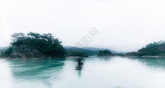 江上渔夫图片