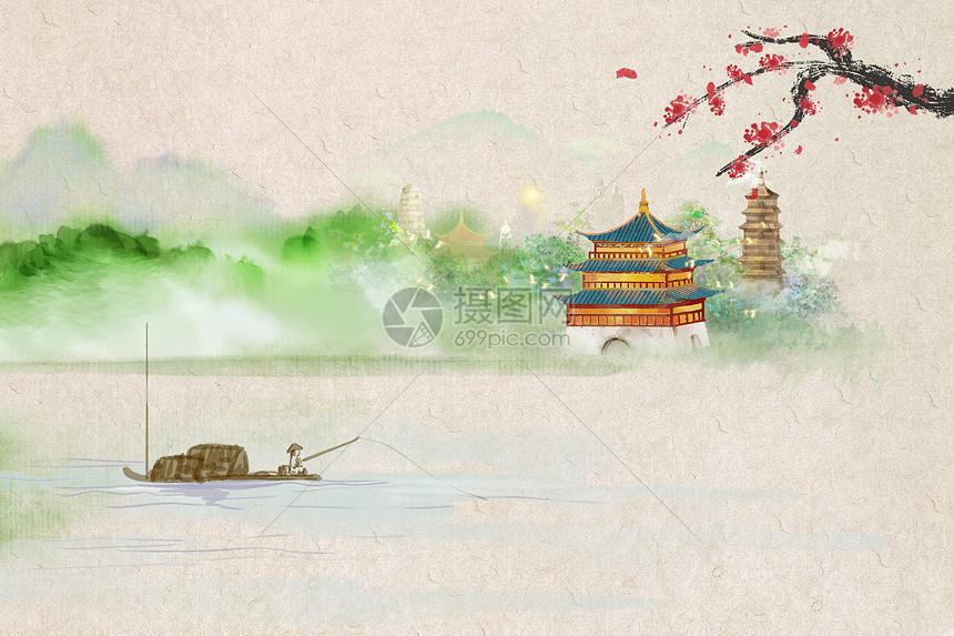 中国风底图图片