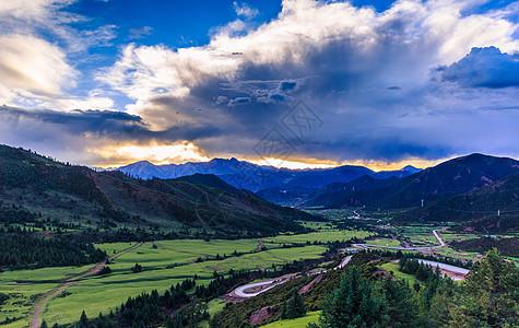 西藏美景高清图片
