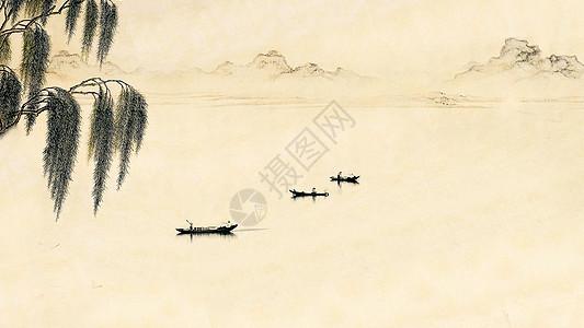 水墨画般的江南水乡图片
