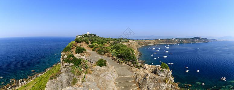 欧洲意大利旅游海岛全景图图片