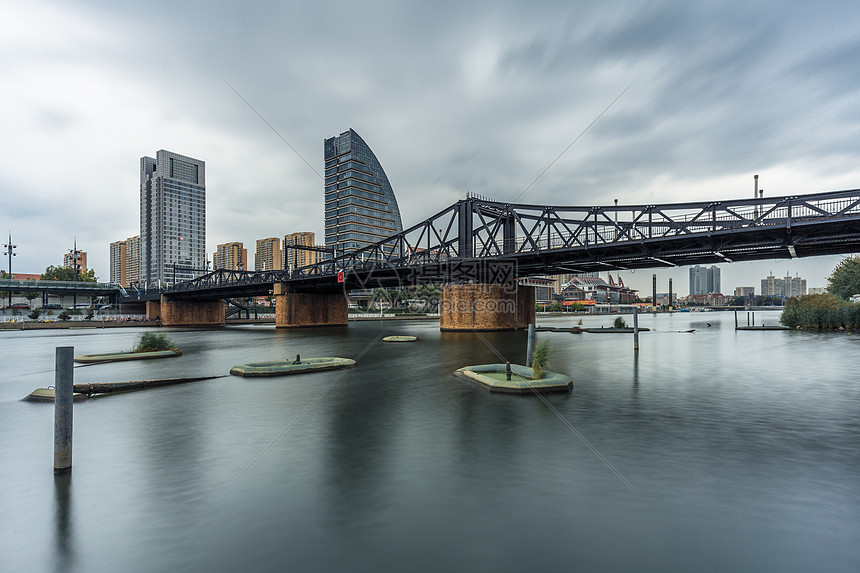 天津金汤桥 图片