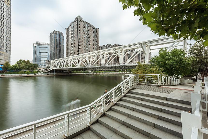 天津进步桥图片
