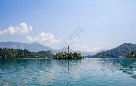 美丽的欧洲湖光山色图片