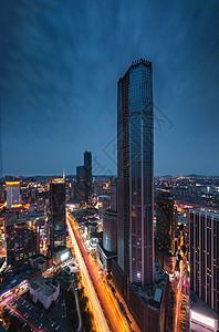 大连之颠城市建筑风光夜景图片