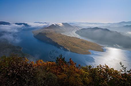 山水风光背景图图片