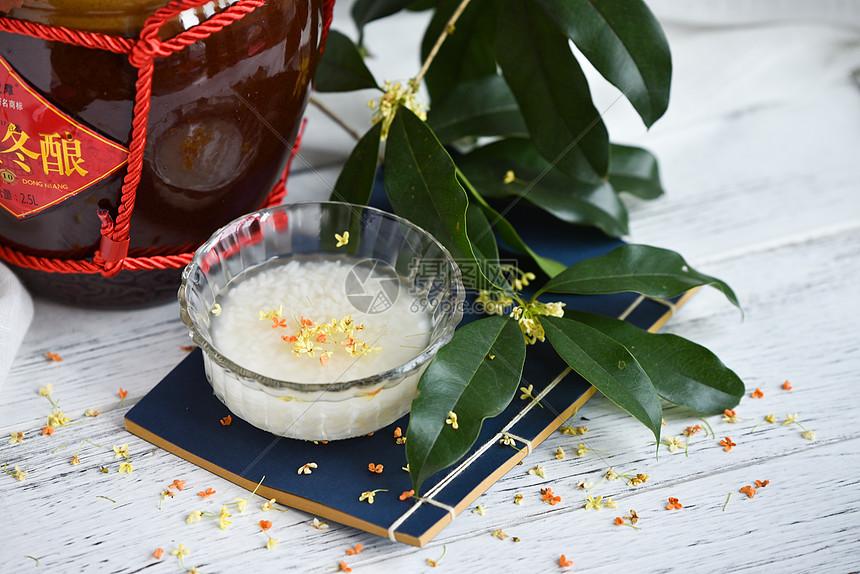 桂花酒酿图片