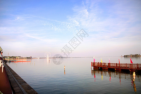 柳叶湖畔 图片