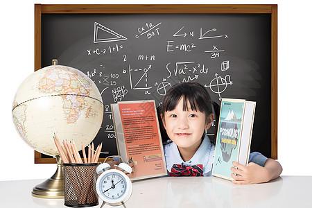 教室课桌学习文具图片