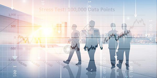 商务信息数据图片