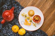 桔子下午茶图片