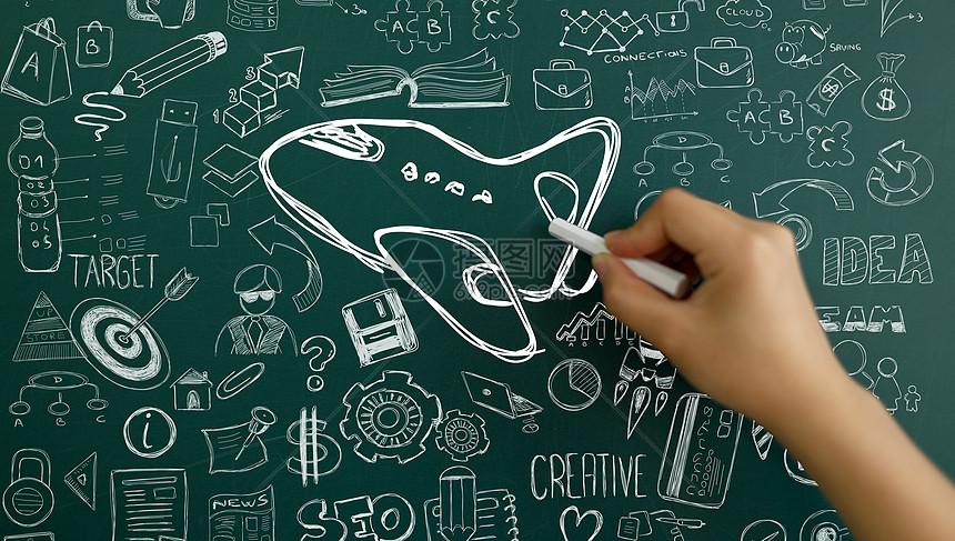 粉笔画图片素材_免费下载_jpg图片格式_vrf高清图片500675314_摄图网