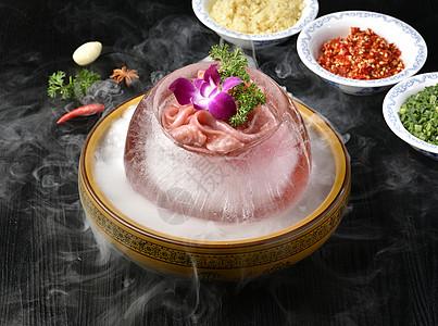 火锅鹅肠图片