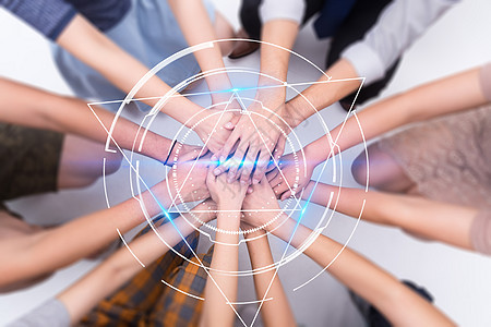 团队合作的科技力量图片