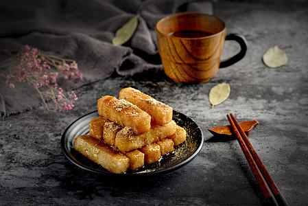 四川特色小吃糍粑图片
