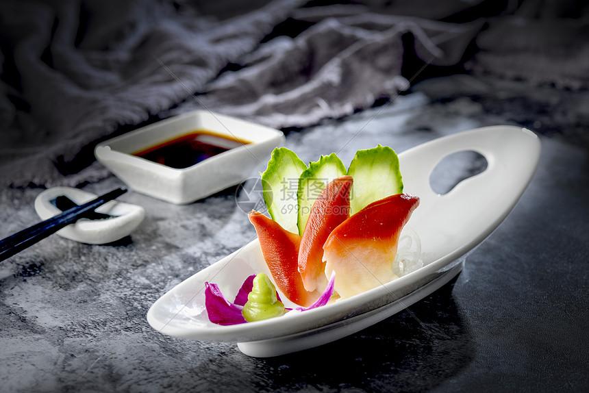日式料理之北极贝刺身图片