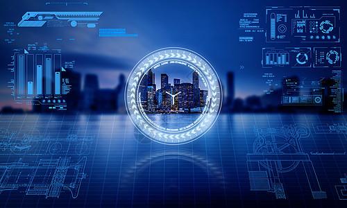 科技城市图片