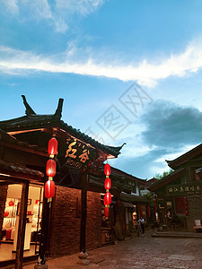 丽江古街图片