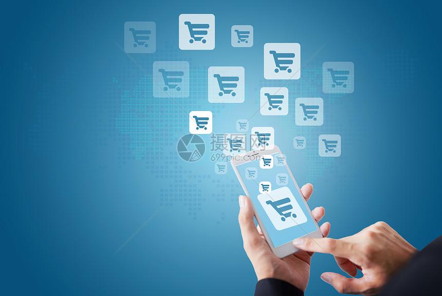 手机互联网购物图片