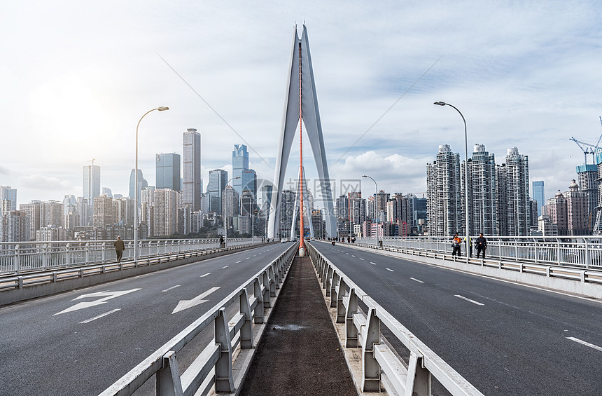 重庆道路交通与城市建筑图片