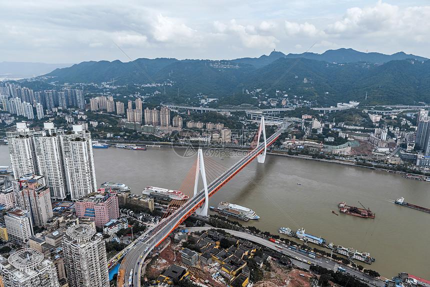 重庆城市与大桥风光图片
